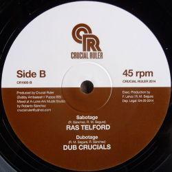 "Sandeeno /  Ras Telford - Silent River / Sabotage - 10"""