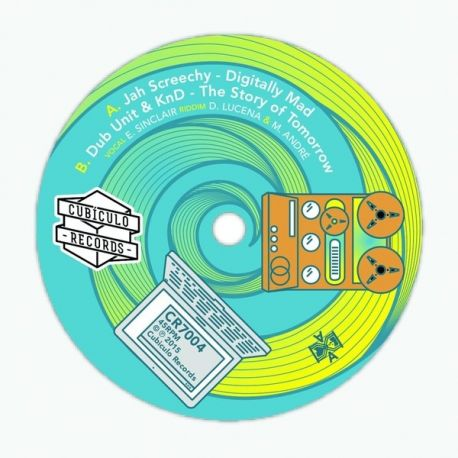 Jah Screechy /  Dub Unit /  KnD  - Digitally Mad  - 7""