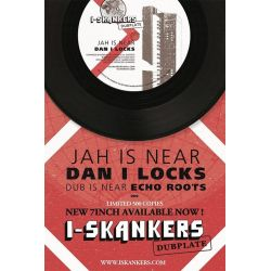 Dan I Locks - Jah Is Near - 7""