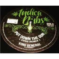 "King General - Put Down The Gun ( 2050 Remix ) - 7"""