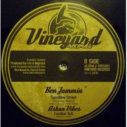 "Askan Vibes /  Tony Tuff /  Ben-Jammin' - Give Jah Praise - 12"""