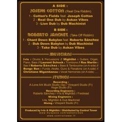 "Askan Vibes /  Joseph Cotton /  Roberto Sanchez - Cotton's Field - 12"""