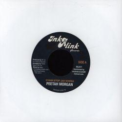 "Peter Morgan /  Guive - Cyann Stop Jah Works / Tired - 7"""