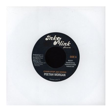Peter Morgan /  Guive - Cyann Stop Jah Works / Tired - 7""