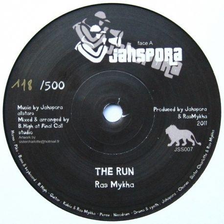 """Ras Mykha - The Run - 7"""""""