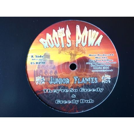Junior Flames - They're So Greedy - 12""