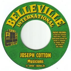 Joseph Cotton /  Don Camilo - Musicians / Run For Nothing - 7""