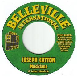 """Joseph Cotton /  Don Camilo - Musicians / Run For Nothing - 7"""""""