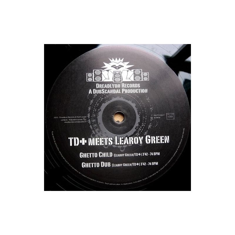 TD+ /  Learoy Green - Ghetto Child - 12""