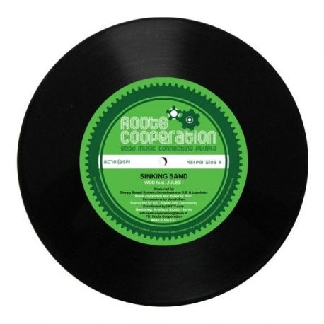 """Wicked Dub Division /  Jules I - Sinking Sand  - 7"""""""