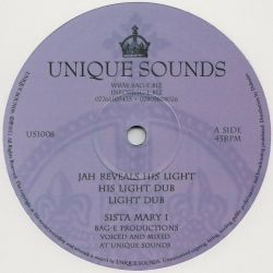 Sista Mary /  Donovan King Jay - Jah Reveals His Light / Walk With Jah - 12""