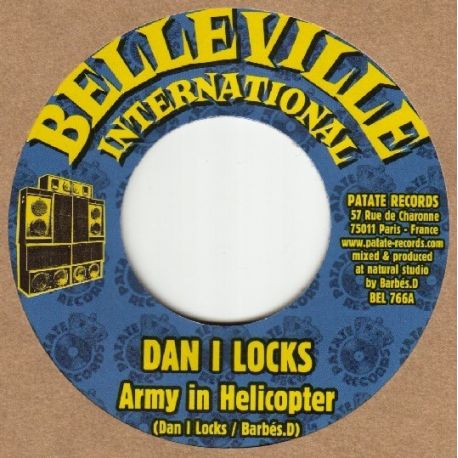 Dan I Locks /  Barbes.D - Army In Helicopter - 7""