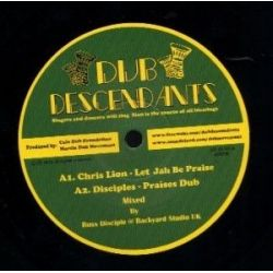 Chris Lion /  The Disciples  /  Monkey Jhayam /  - Let Jah Be Praise - 10""