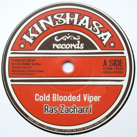Ras Zacharri - Cold Blooded Viper - 7""