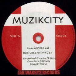 "Goldmaster Allstars /  Owen Gray /  Lloydie Nature - I'm A Jamaican / Hundred Miles - 10"""