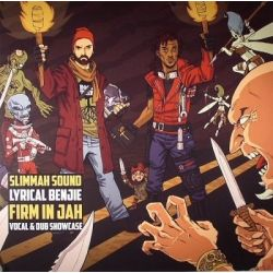 Slimmah Sound /  Lyrical Benjie - Firm In Jah - LP