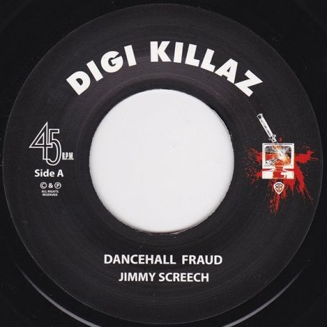 Jimmy Screech - Dancehall Fraud - 7""