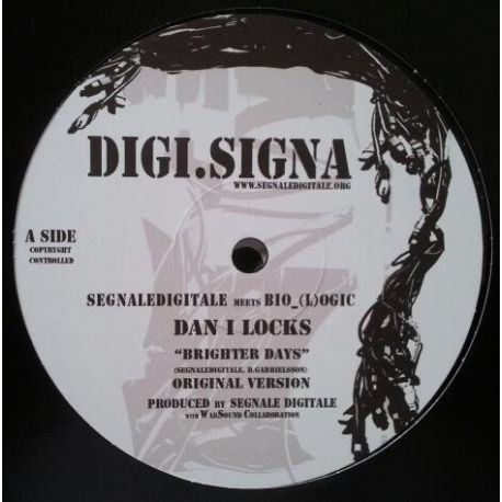 Dan I Locks - Brighter Days - 12""