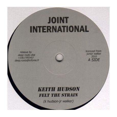 """Keith Hudson - Felt The Strain - 12"""""""