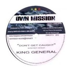 King General - Don't Get Caught - 10""