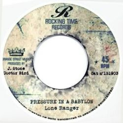 Little Ced /  Lone Ranger - Youth Man / Pressure In A Babylon - 7""
