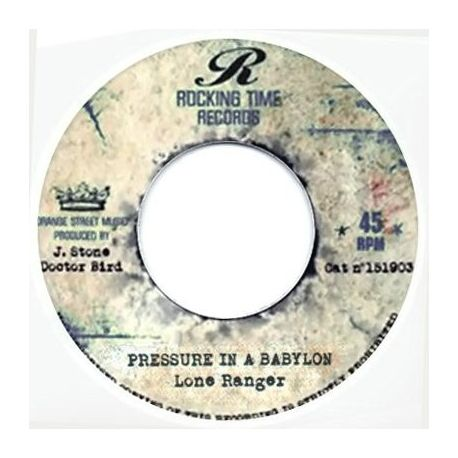 """Little Ced /  Lone Ranger - Youth Man / Pressure In A Babylon - 7"""""""