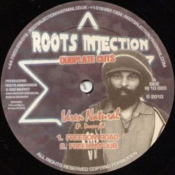 Idren Natural - Freedom Road / Keep Them Both Together - 10""
