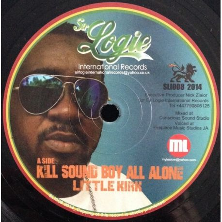 Little Kirk - Kill Sound Boy All Alone - 7""