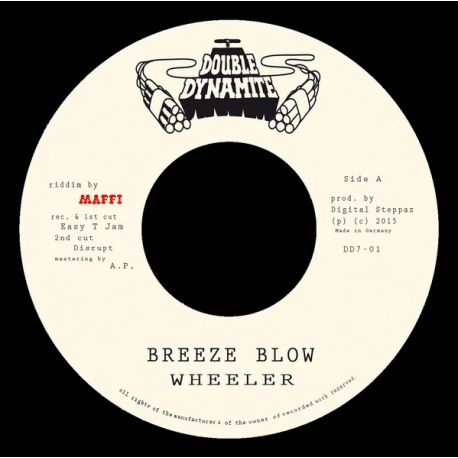 "Wheeler /  Digital Steppaz /  Shanti D - Breeze Blow / Dem No Ready - 7"""