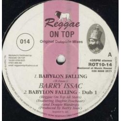 Barry Issac - Babylon Falling - 10""