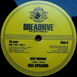 Ras Apaawa - Keep Moving - 7""