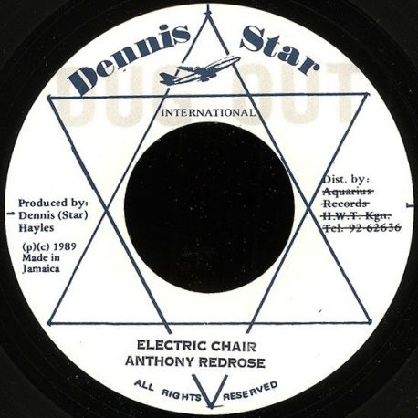 Anthony Red Rose - Electric Chair - 7""
