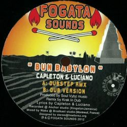 "Capleton /  Luciano  - Bun Babylon - 10"""