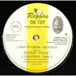 Barry Issac - Man Is From Creation - 10""