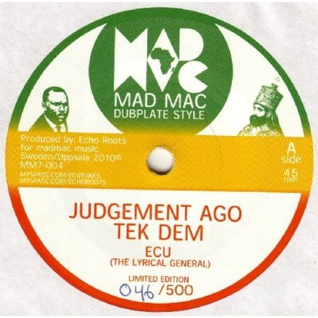 ECU - Judgement Ago Tek Dem - 7""
