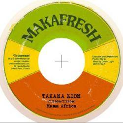 "Takana Zion - Mama Africa / Reggae Donkili - 7"""