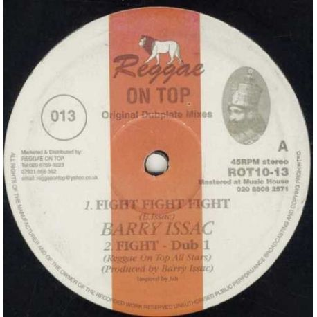 Barry Issac - Fight Fight Fight - 10""