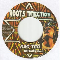 Ras Teo - Get Away (Remix) - 7""