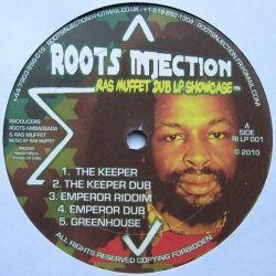 Ras Muffet - Dubs From Greenhouse Studio 1984' - 1988' - LP