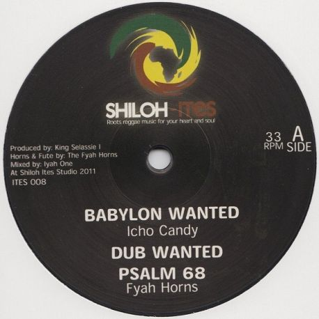 """Icho Candy /  Jah Melodie - Babylon Wanted / Up With The King - 12"""""""