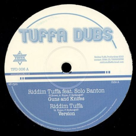 Riddim Tuffa /  Solo Banton /  Diegojah /  - Guns And Knifes - 12""