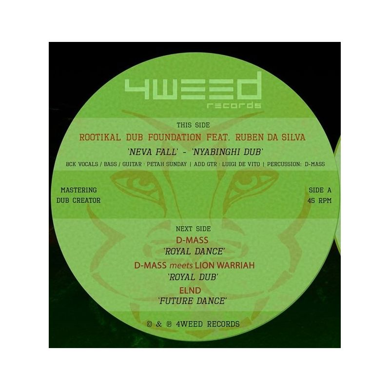 "Rootikal Dub Foundation /  Ruben Da Silva - Neva Fall - 12"""