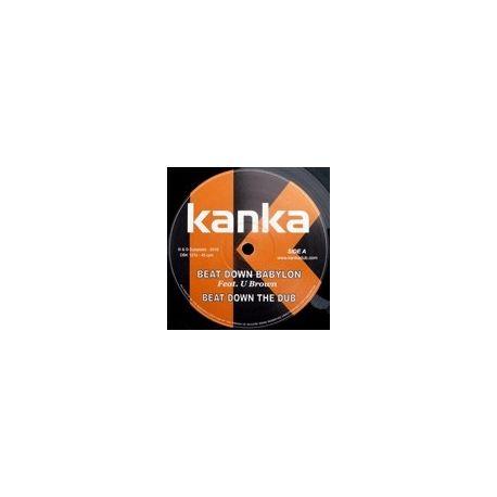 """Kanka - Beat Down Babylon / Never Let Them - 12"""""""