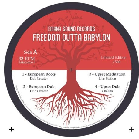Dubcreator /  Lion Station /  Chazbo /  - Freedom outta babylon - 12""