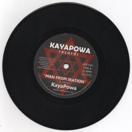 Kayapowa - Man From Iration - 7""