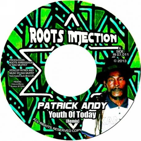 Patrick Andy - Youth Of Today - 7""