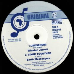 Winston Jarrett , Earth Messengers - Gedsenemi , Come Together - 10""