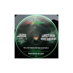 Idren Natural /  Mighty Prophet - Green Herb / Jah Iration - 10""