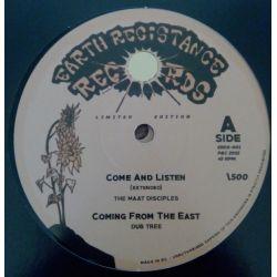 "The Maat Disciples /  Dub Tree /  Robert Souljah /  - Come & Listen / Indoctrination - 12"""