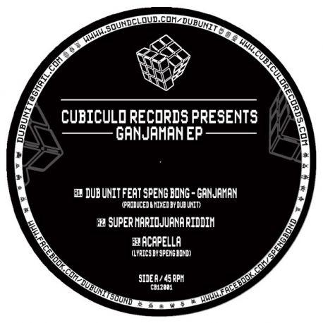 "Dub Unit / Speng Bond - Ganjaman EP - 12"""